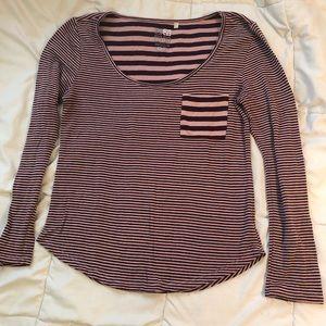 Small Nollie long sleeve shirt (from Pacsun)